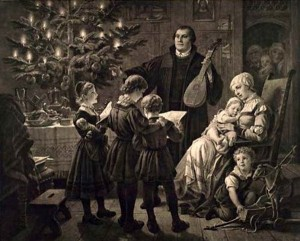 Luther Family at Christmas